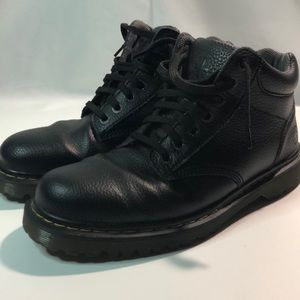 Men's black Doc Martens Sz 11 leather 3q top boot